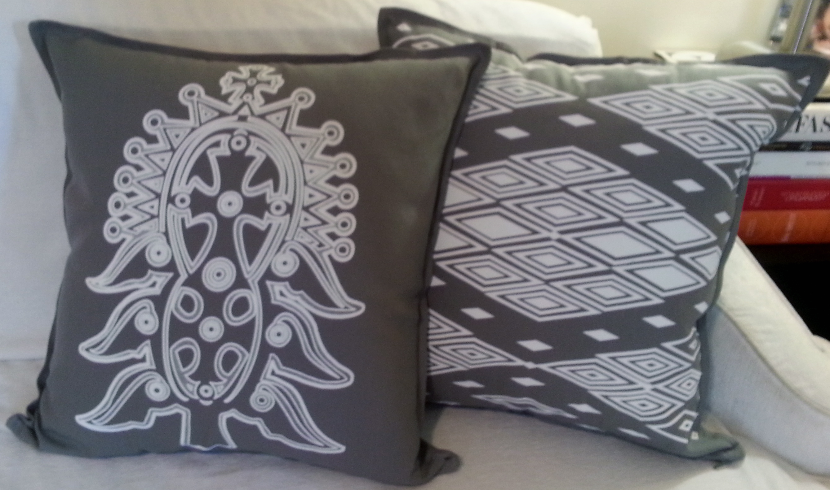 Decorative Pillows With Crosses : Lalibela Cross Decorative Pillow Cover - HageresebHagereseb